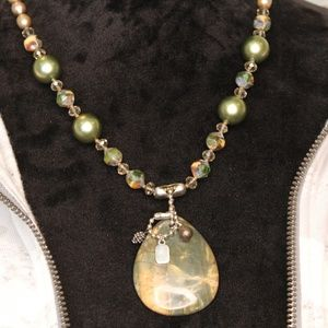 Jewelry - Military Inspired Necklace & Earrings set